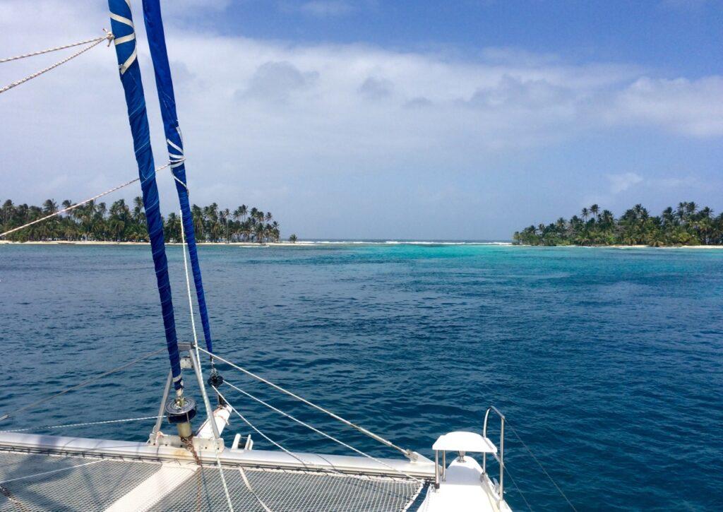 umgeben von Blauwasser ist ideal für Blauwassersegler Beratung