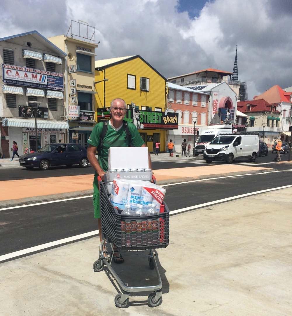 Verproviantierung in der Karibik